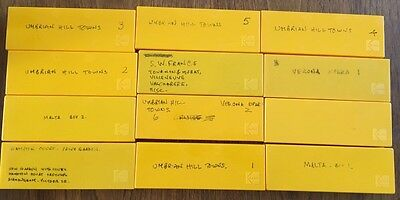 12 x Kodak 35mm Slide Storage Boxes, Great Condition, Approx 36 Slides Each