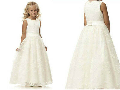 Flower Girl Dress Communion Pageant Wedding Easter Graduation Bridesmaid Dress