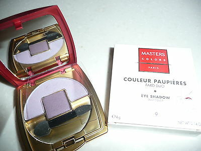 MASTERS COLORS - COULEUR PAUPIERES - Fard duo n°9