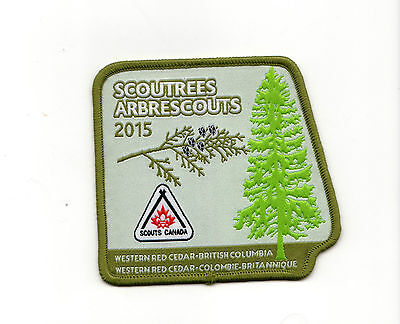 Scoutrees/Trees for Canada Scouts Canada 2015