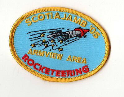 Scouts Canada ScotiaJamb 2005 Armview Area - Rocketeering