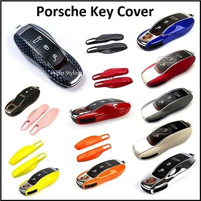 Key Cover for Porsche Remote Smart Case Fob Skin Protection Shell Bag Side Cap