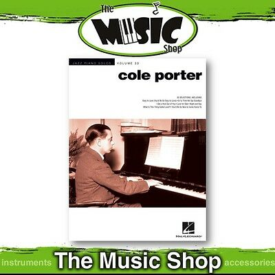 New Jazz Piano Solos 'Cole Porter' Music Book - Volume 30