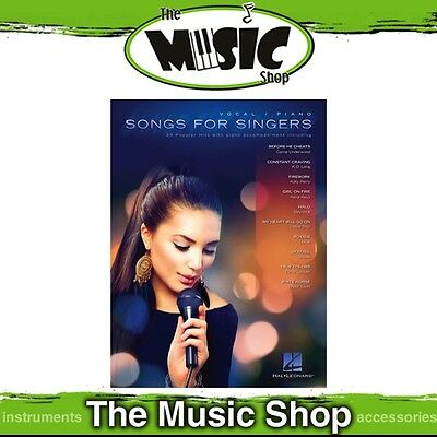 New Songs for Singers Vocal & Piano Accompaniment Music Book