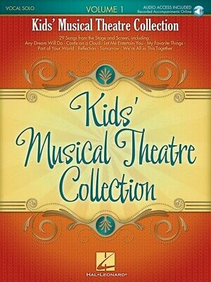New Kids' Musical Theatre Collection Volume 1  - Vocal Solo Music Book with CD