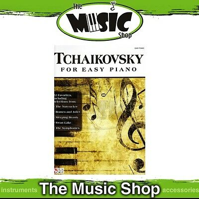 New Tchaikovsky Music Book for Easy Piano