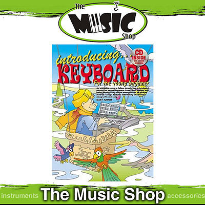 Progressive Introducing Keyboard for the Young Beginner Kids Music Book & CD