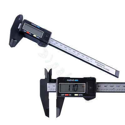 "150mm 6"" LCD Digital Vernier Caliper Gauge Electronic Micrometer Measuring tool"