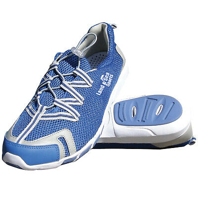 NEW Land & Sea Mariner Yacht Shoe - AQUA SHOES Boat Reef Water Drainage Shoes