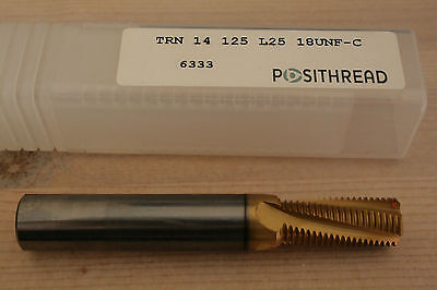 Posithread Carbide Threading Milling Insert - TRN 14 125 18UNF-C