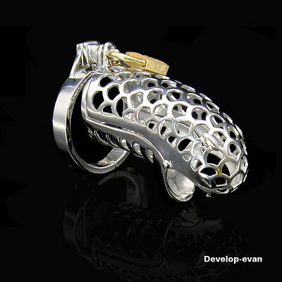 NEW Stainless Steel Snake Master Series Chastity Cage A240