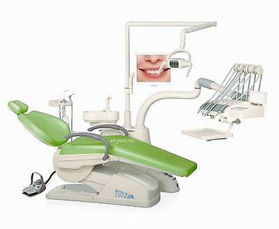 Controlled Integral Dental Unit Chair FDA CE approved D4 Model Hard Leather VEP