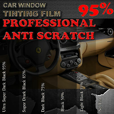 PROFESSIONEL ANTI RAYURES FILM TEINTE PELLICULE 50cm 95% VITRES THERMOFORMABLE