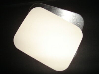 1000 x LIDS for Small 2a Foil Container (Standard) FAST FOOD TAKEAWAY HOT (0304)