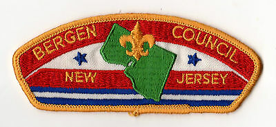 Boy Scouts of America Bergen Council - New Jersey - USA Patch Badge