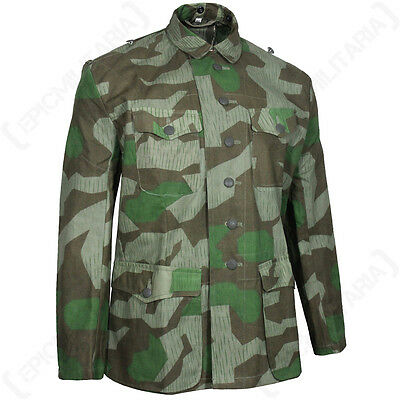 WW2 GERMAN SPLINTER CAMO FIELD BLOUSE - Repro Military Army Jacket All Sizes