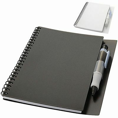Notebook per Appunti Hyatt con penna 80 Fogli A5 a Righe Memo Block Notes