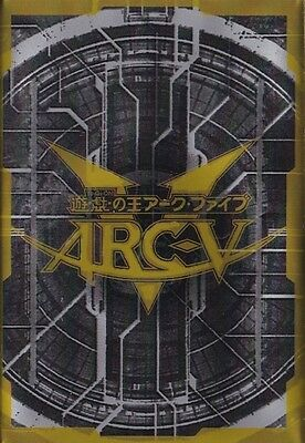 (100) Yu-gi-oh Card Deck Protectors Arcy Card Sleeves Black. Delivery is Free