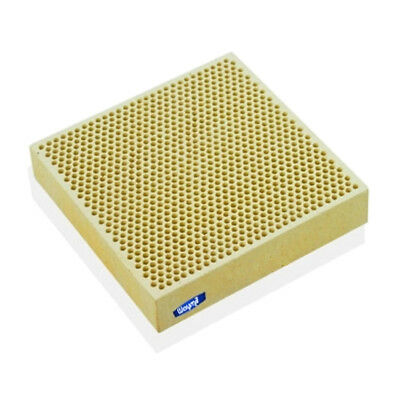 """SOLDERING CERAMIC PLATE BOARD HONEYCOMB PERFORATED 4"""" x 4"""" x JEWELRY TOOLS"""