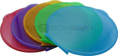 5mm Multi Color Clamshell CD/DVD Case Style #1 - 100 Pack