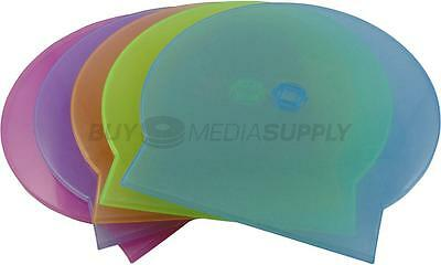 5mm Multi Color Clamshell CD/DVD Case Style #2 - 400 Pack