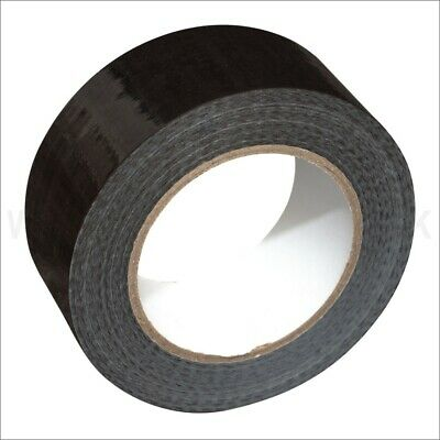 BLACK GAFFA DUCT TAPE VERY STRONG 50mm x 50 Metres