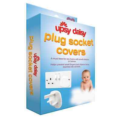 12 Pack Baby Safety Plug Socket Cover Protectors Inserts Uk Plug Socket New