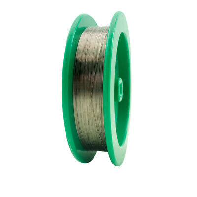 "Tungsten Fine Wire, 0.011"" Diameter, 100m/Spool"