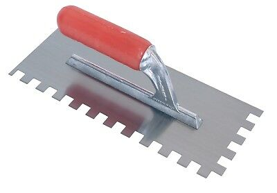 RAIMONDI 'Gel' Handle 12mm Sq. Notch Trowel RA183Q12