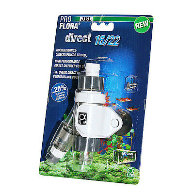JBL Proflora Direct 16/22 (Inlinediffusor) addition of CO2 without Reactor