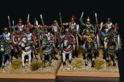 15mm Ancient Pro-Painted DPS Ancient Spanish Cavalry unit DBMMAs1