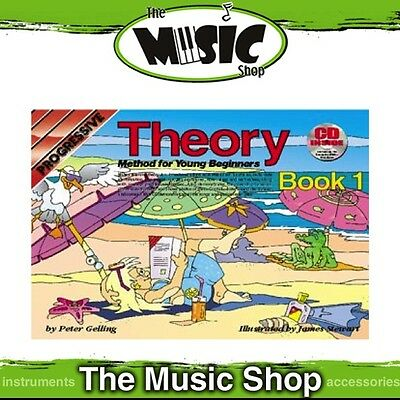Progressive Theory Method for Young Beginners Book 1 with CD - Music Tuition