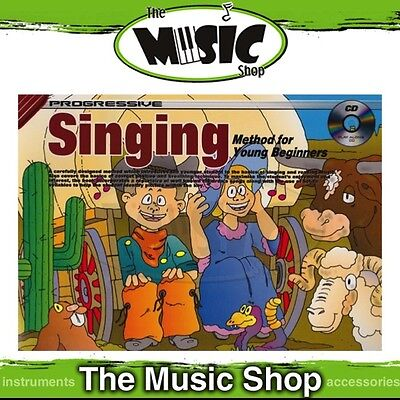 New Progressive Singing Method for Young Beginners Music Tuition Book & CD
