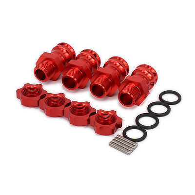 4pcs 23MM Extension Adapter Cover 17MM Wheel Hex Hub 89108 For RC 1:8 Car HSP