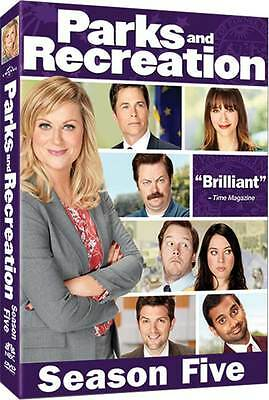 Parks And Recreation . The Complete Season 5 . Staffel . Amy Poehler . 4 DVD NEU