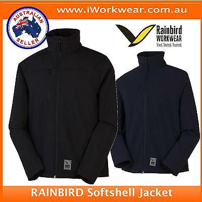 New Rainbird Workwear 3 Layer Softshell Waterproof Unisex Mcgee Jacket All Sizes