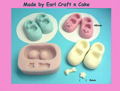 Baby Booties- shoes, Cake Decorating Sugar Flower Gum Paste Tools