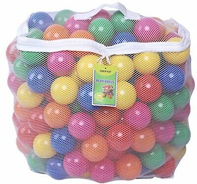 Click N' Play Pack Of 200 Phthalate Free BPA Free Crush Proof Plastic Ball, Pit