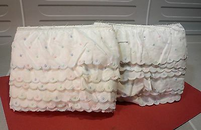Volants en Broderies anglaises, 7 à 8 m… World FREE Shipping*