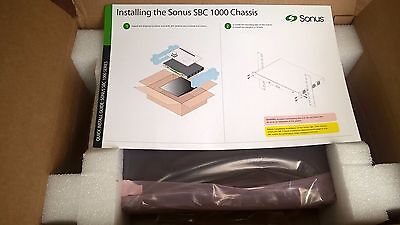 Sonus Networking SBC 1000 SBC-1K-FXS FIXED WITH 8 FXS PORTS