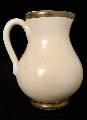 Vintage Studio Pottery Cream Colour Water Jug