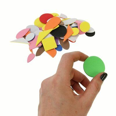 Creation Station Craft Foam Shapes Peel and Stick,pack of 400 CT1067