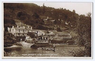 SYMONDS YAT Ye Olde Ferrie Inne, RP Postcard Unused c1951