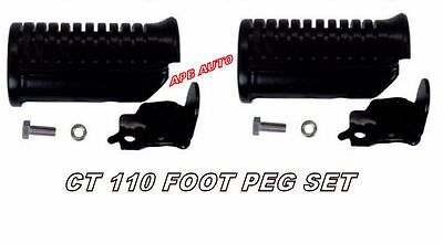 Honda Ct110 Postie Posty Bike Foot Peg Set- Foot Pegs For Postie Bike Ct 110