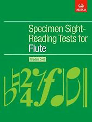 Flute Specimen Sight-Reading Tests Grades 6-8 ABRSM Sheet Music Book Exams B58