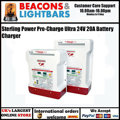 Sterling Power Pro-Charge Ultra 24V 20A Battery Charger PN:PCU2420 [3 OUT]