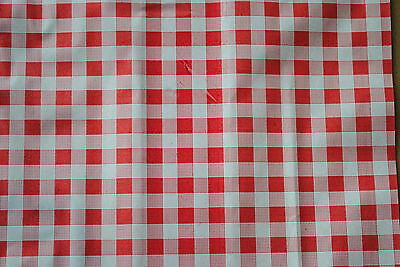 10kg x Gingham Duplex Sheets RED (10 x15 ins) BUTCHERS DELI CATERING MEAT (1149)