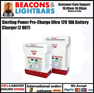 Sterling Power Pro Charge Ultra 12v 10a 2 out Battery Charger