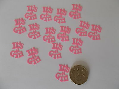100 Pink Its A Girl Baby Shower Confetti Table Sprinkles Decorations Free P&P