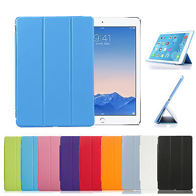 Funda Carcasa Flip Magnetica Tablet Ipad Mini 2 Smart Cover Case + Tapa Trasera